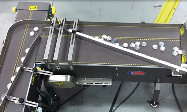 High Speed Single Filer with Multiple 900 Transfers
