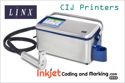 Linx Conitinuous Inkjet Printer – Packaging Batch Coding and Date Coder Packaging Technology